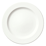 Syracuse China 905356821 Round Plate w/ Narrow Rim, Slenda Pattern & Shape, Royal Rideau Body, 10.5-in