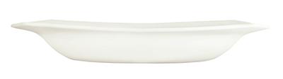 Syracuse China 905356897 11.5-in Square Pasta Bowl w/ Slenda Pattern & Shape, Royal Rideau Body