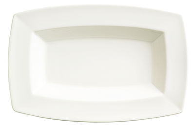 Syracuse China 905356950 9.5-oz Rectangular Bowl w/ Slenda Pattern & Shape, Royal Rideau Body
