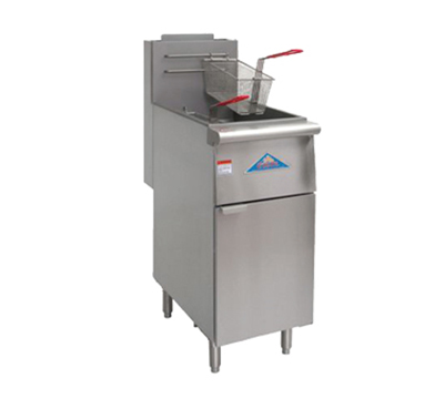 Comstock-castle EFS14-G Gas Fryer - (1) 35-lb Vat, Floor Model, NG