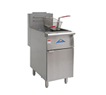 Comstock-castle EFS18-G Gas Fryer - (1) 80-lb Vat, Floor Model, NG