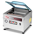 "Eurodib 315VM8 120 Vacuum Machine w/ Dome Cover & 12"" Sealing Beam, Stainless"