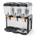 Eurodib CD3J Juice Dispenser w/ (3) 3.2-Gallon Polycarbonate Tank