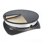 Eurodib CEBPB2 13-in Non-Stick Crepe Griddle w/ Accessories & Recipe Book