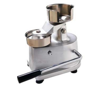"Eurodib HF-100 Hamburger Press w/ Stainless 4"" Mold & Built In Sheet Holder"