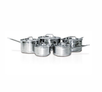 Eurodib HOMSET10 10-Piece Induction Cookware Set: 5-Sauce Pans & Lids