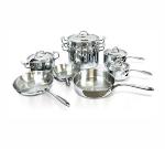 Eurodib HOMSET13 13-Piece Induction Cookware Set w/ Induc
