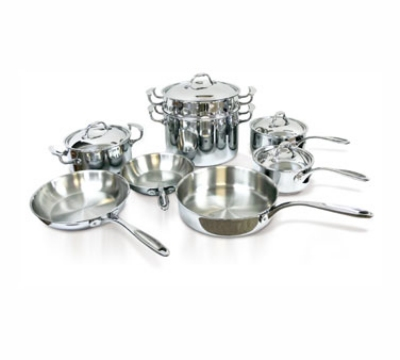 Eurodib HOMSET13 13-Piece Induction Cookware Set w/ Induction Cook Top