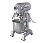 Eurodib M20EUL 20 Qt Planetary Mixer- 3-Speeds, Stainless Bowl, 110v