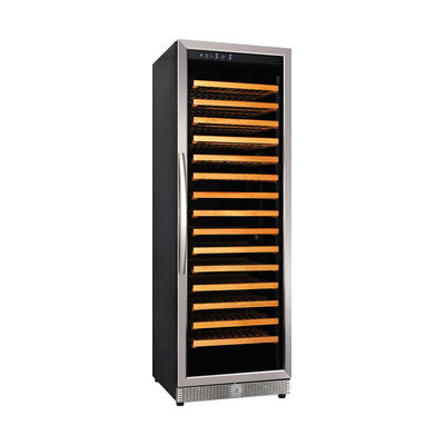 "Eurodib USF168S 24"" One Section Wine Cooler w/ (1) Zone, 165-Bottle Capacity, 110v"