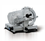 "Eurodib MIRRA 250 10"" Slicer w/ Removable Built-In Sharpener, Belt Driven, Manual"