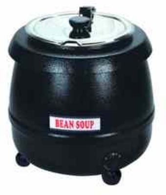 Eurodib SB600 Soup Kettle w/ Black Exterior, 10-Liter