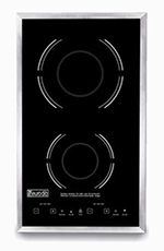 Eurodib SC05 Drop-In Commercial Induction Cooktop w/ (2) Burners, 208-240v/1ph