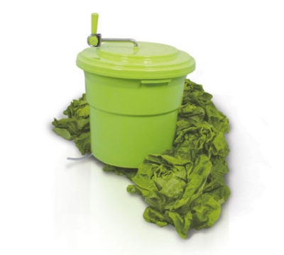 Eurodib SP012 2.5-Gallon Salad Spinner w/ Collapsable Handle