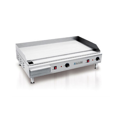 "Eurodib SFE04910 36.5"" Electric Griddle - Manual, 1/2"" Steel Plate, 220v/1ph"