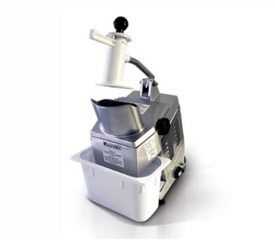 Eurodib TM 110-1201 Vegetable Cutter w/ 1-Disc, Holder, Poly Container, 110-120/1 V