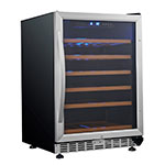 "Eurodib USF54S 23.4"" One-Section Wine Cooler w/ (1) Zone - 57-Bottle Capacity, 110v"