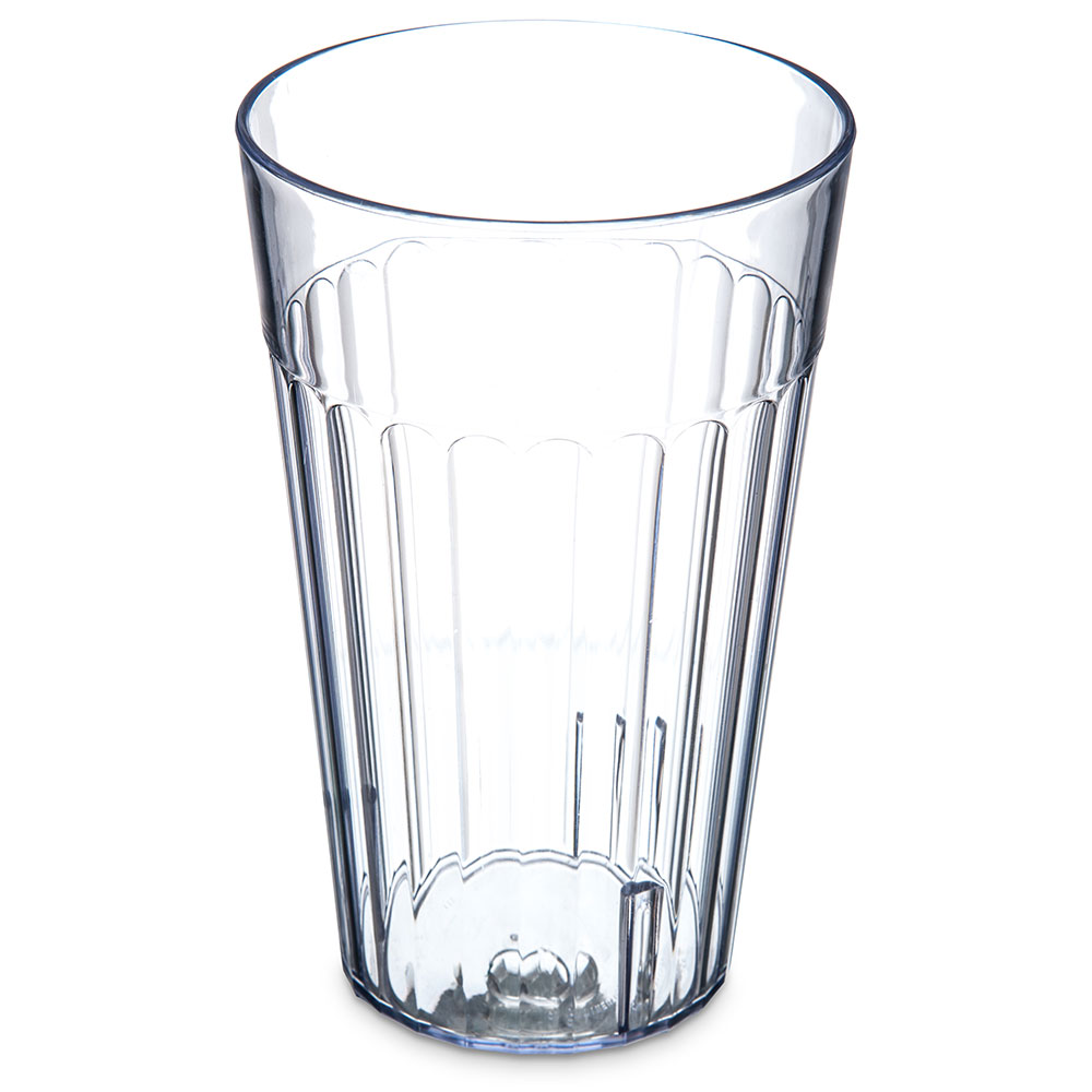 Carlisle 013207 32-oz Bistro Tumbler - Fluted, Clear