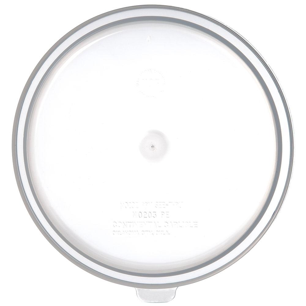 Carlisle 020230 Bain Marie Food Storage Lid, 2-qt & 3.5-qt, Polyethylene, Translucent