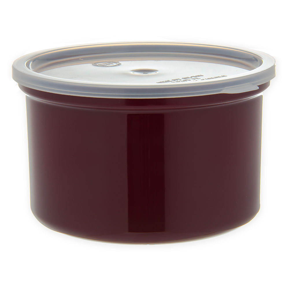 Carlisle 031601 1.5-qt Classic Crock - Snap-On Lid,  Brown