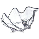 "Carlisle 034007 22-oz Buffet Clam Shell - 11x7"" Clear"