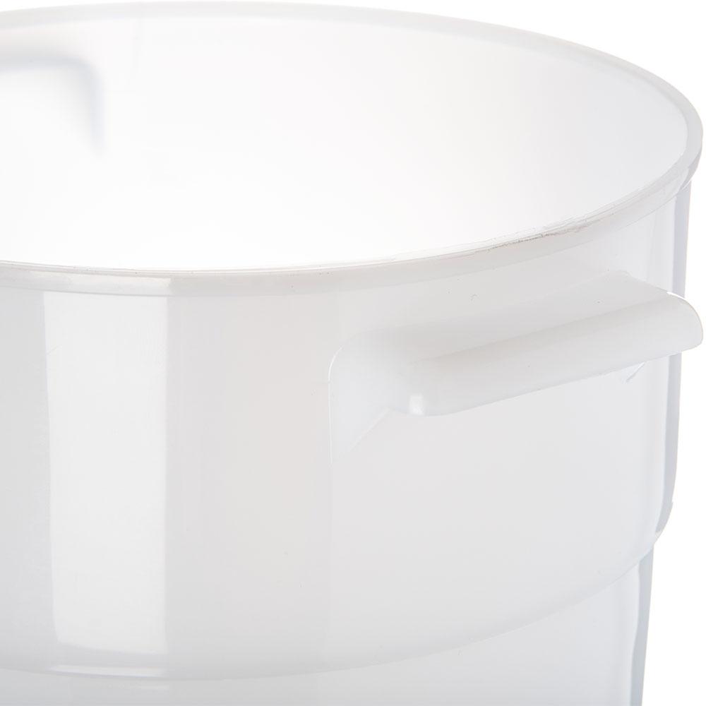 Carlisle 035002 3-1/2-qt Round Bain Marie Container - White