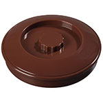"Carlisle 047528 7-1/2"" Tortilla Server with Lid - Lenox Brown"