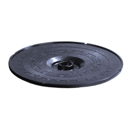 "Carlisle 070714 12"" Tortilla Server Lid - Lift-Off Style, Blue"
