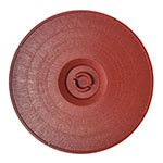 "Carlisle 070729 12"" Tortilla Server Lid - Lift-Off Style, Terra Cotta"