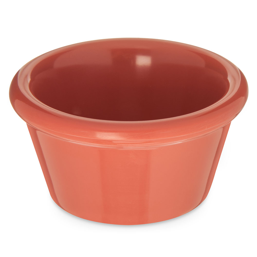 Carlisle 085252 2-oz Ramekin - Melamine, Sunset Orange