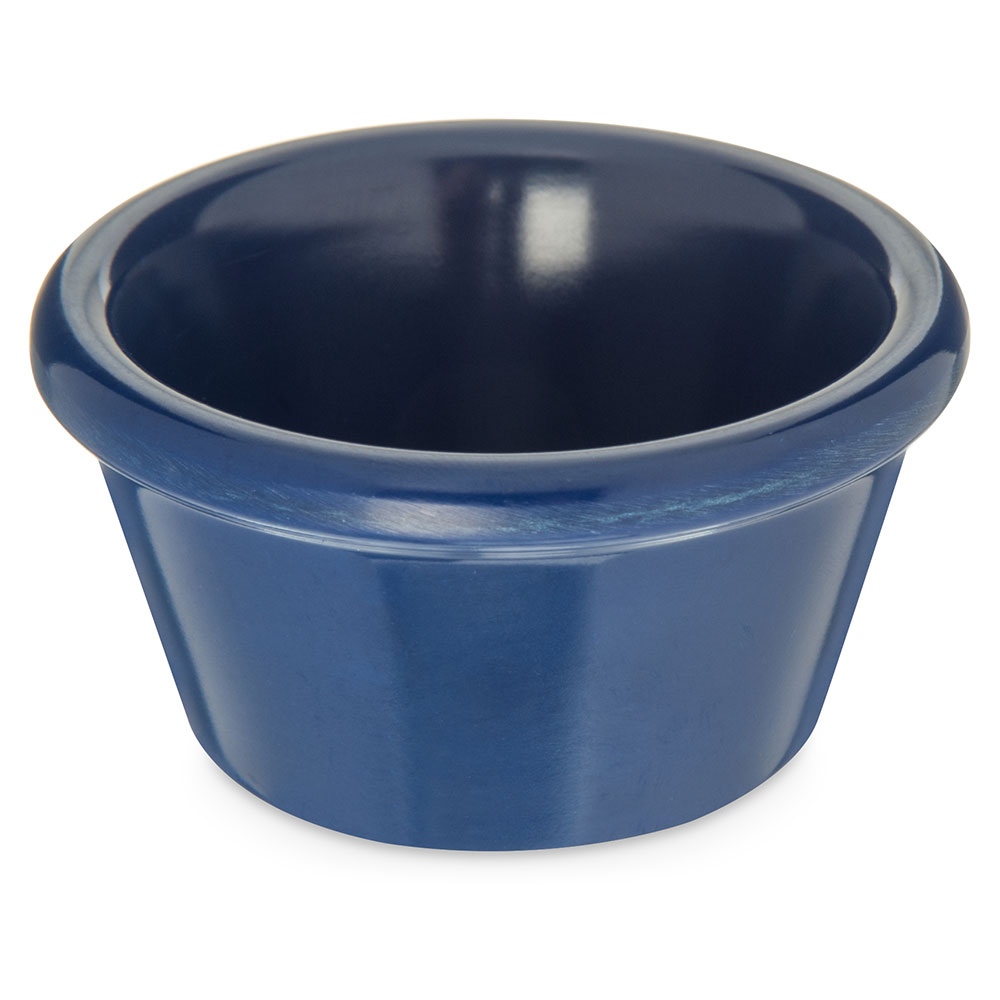 Carlisle 085260 2-oz Ramekin - Melamine, Cobalt Blue