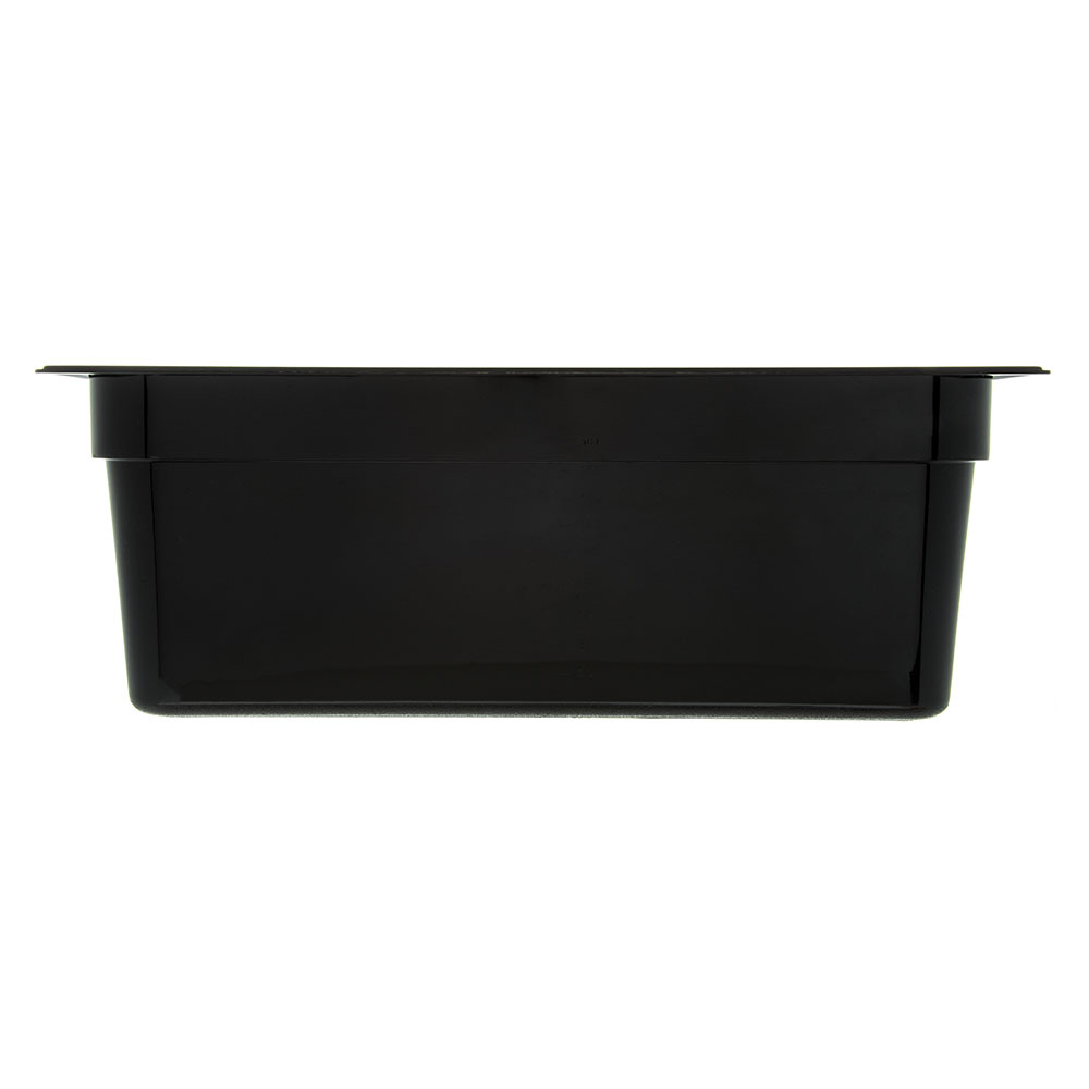 "Carlisle 10203B03 Full Size Food Pan - 8""D, Black"