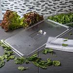 Carlisle 10210U07 Universal Full Size Food Pan Lid - Clear