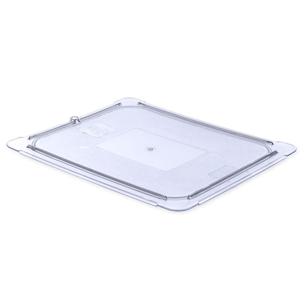 Carlisle 10236U07 Universal Half Size Food Pan Lid - Flat, Clear