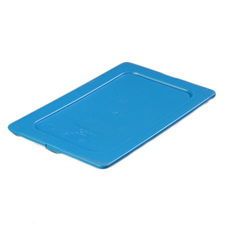 Carlisle 1029214 1/4 Size Food Pan Smart Lid - Blue