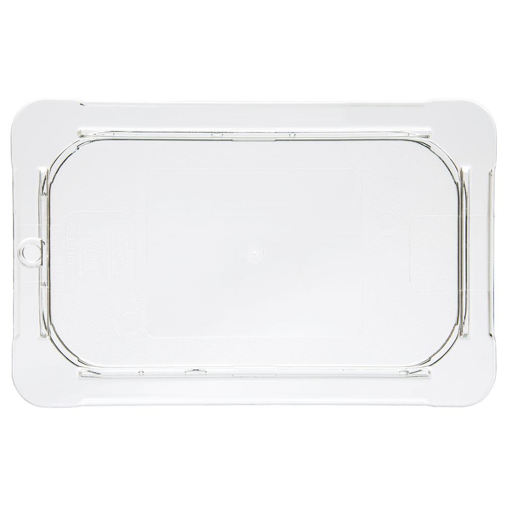 Carlisle 10296U07 Universal 1/4 Size Food Pan Lid - Flat, Clear