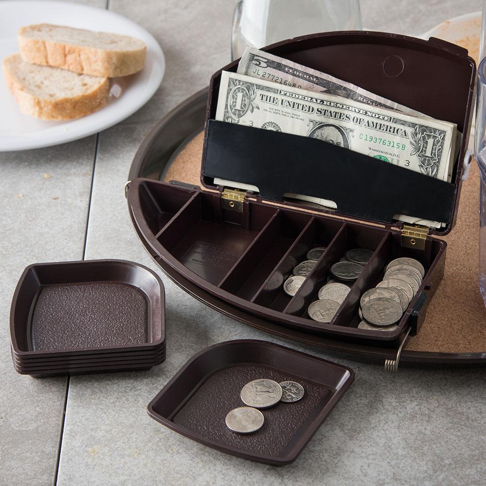"""Carlisle 103101 Money Maid Combo Pack - Round, 9x5x2-1/4"""" Brown"""
