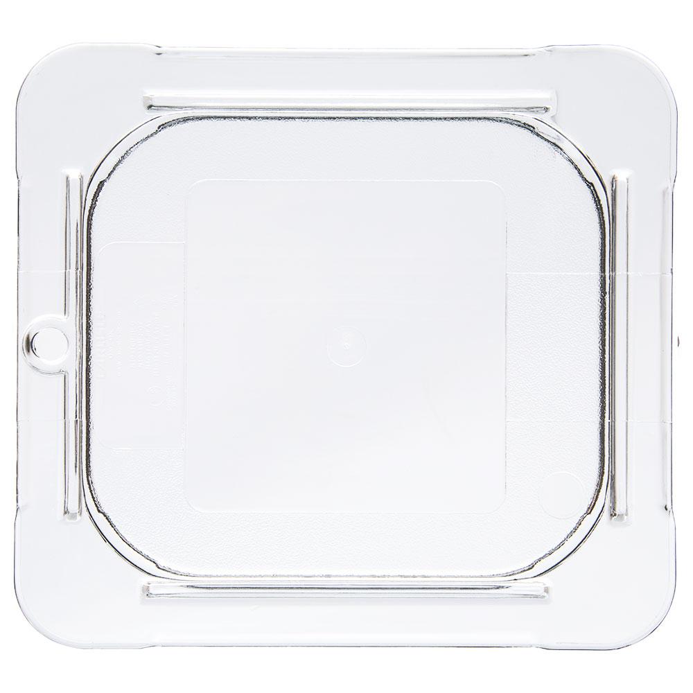 Carlisle 10316U07 Universal 1/6 Size Food Pan Lid - Flat, Clear