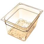 Carlisle 1043513 Half Size High Heat Drain Shelf - Amber