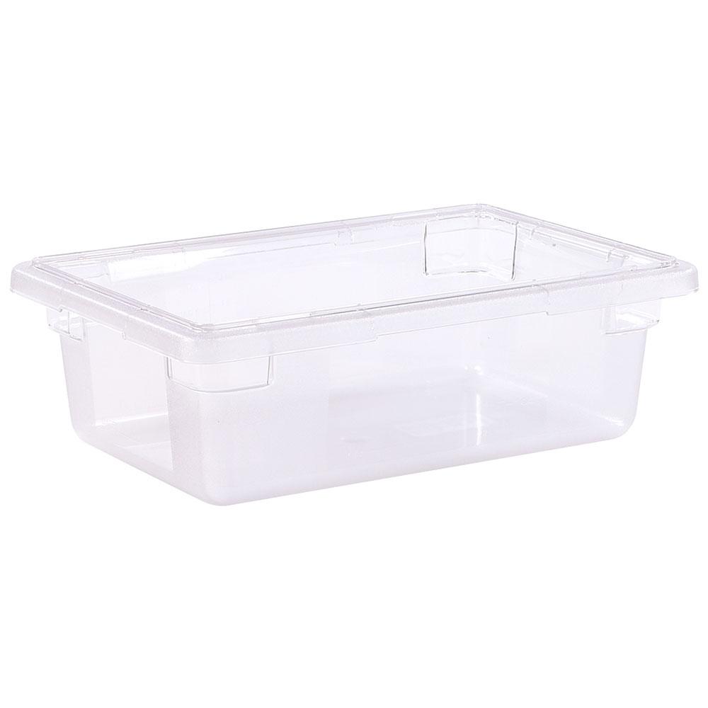 "Carlisle 1061107 3-1/2-gal Food Storage Box - 18x12x6"" Clear"