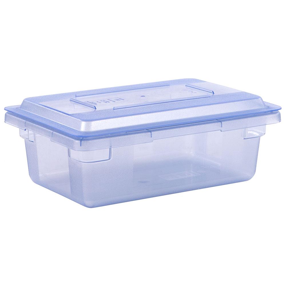 "Carlisle 10611C14 3-1/2-gal Food Storage Box - 18x12x6"" Blue"