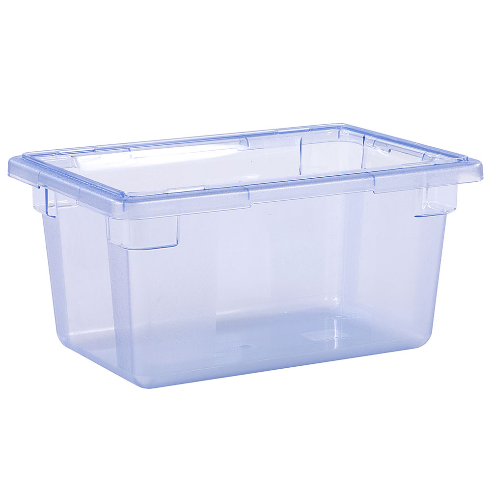 "Carlisle 10612C14 5-gal Food Storage Box - 18x12x9"" Blue"