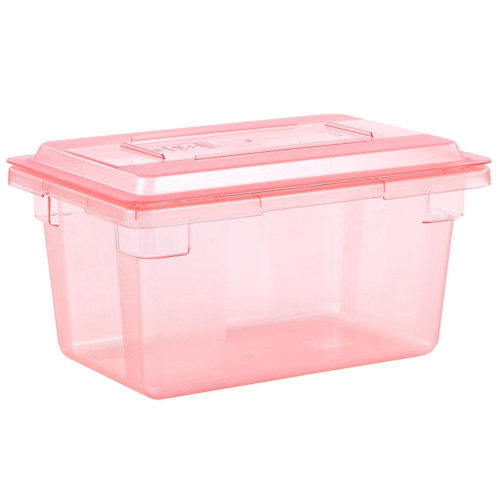 "Carlisle 10617C05 Food Storage Lid - 18x12"" Red"