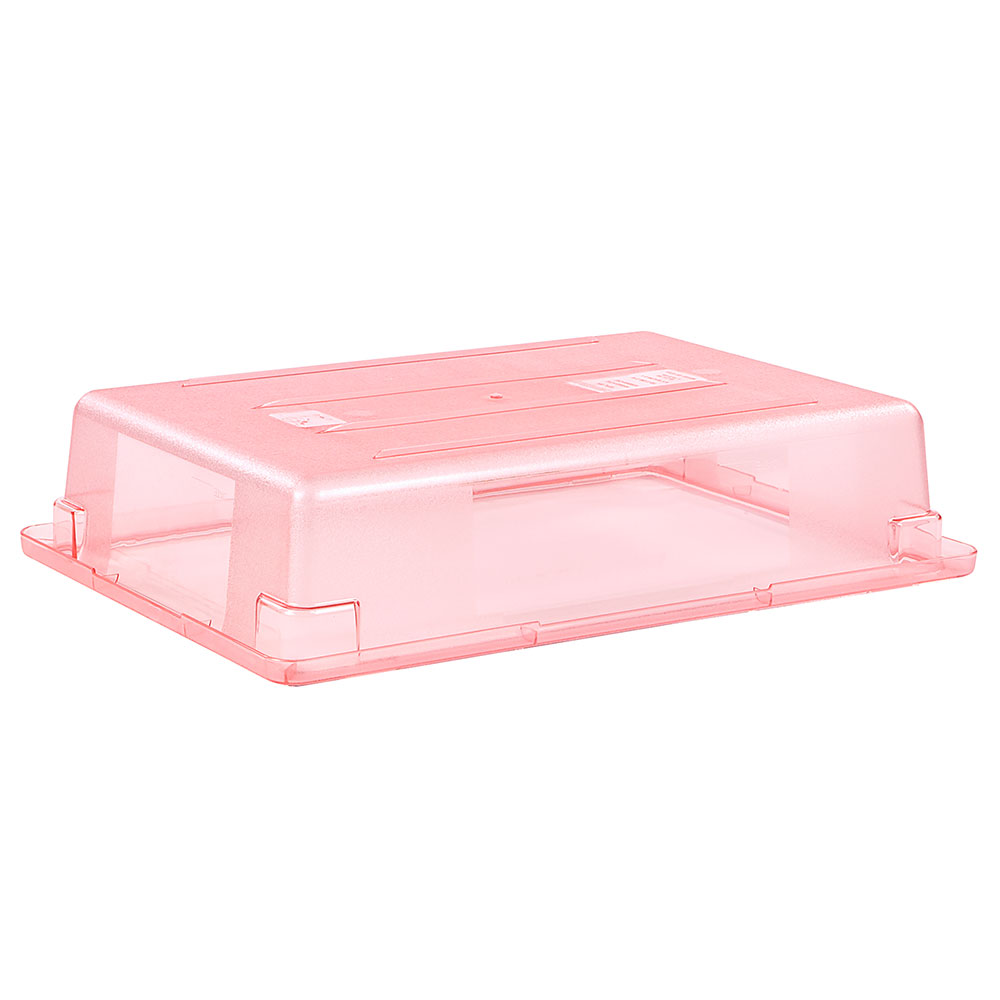 "Carlisle 10621C05 8-1/2-gal Food Storage Box - 26x18x6"" Red"