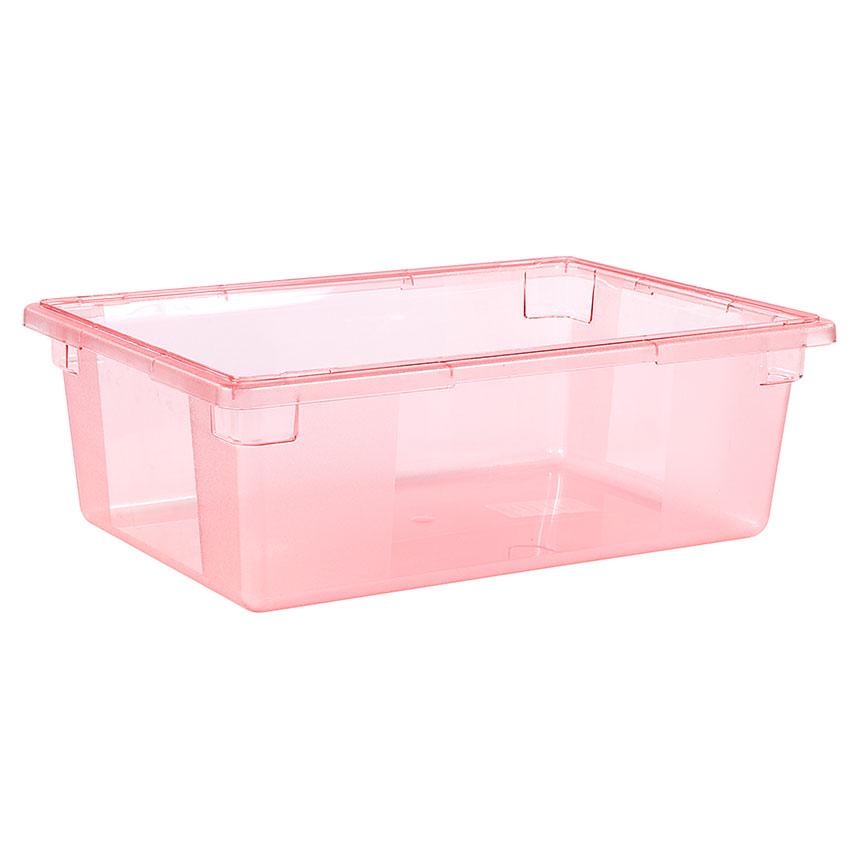 "Carlisle 10622C05 12-1/2-gal Food Storage Box - 26x18x9"" Red"
