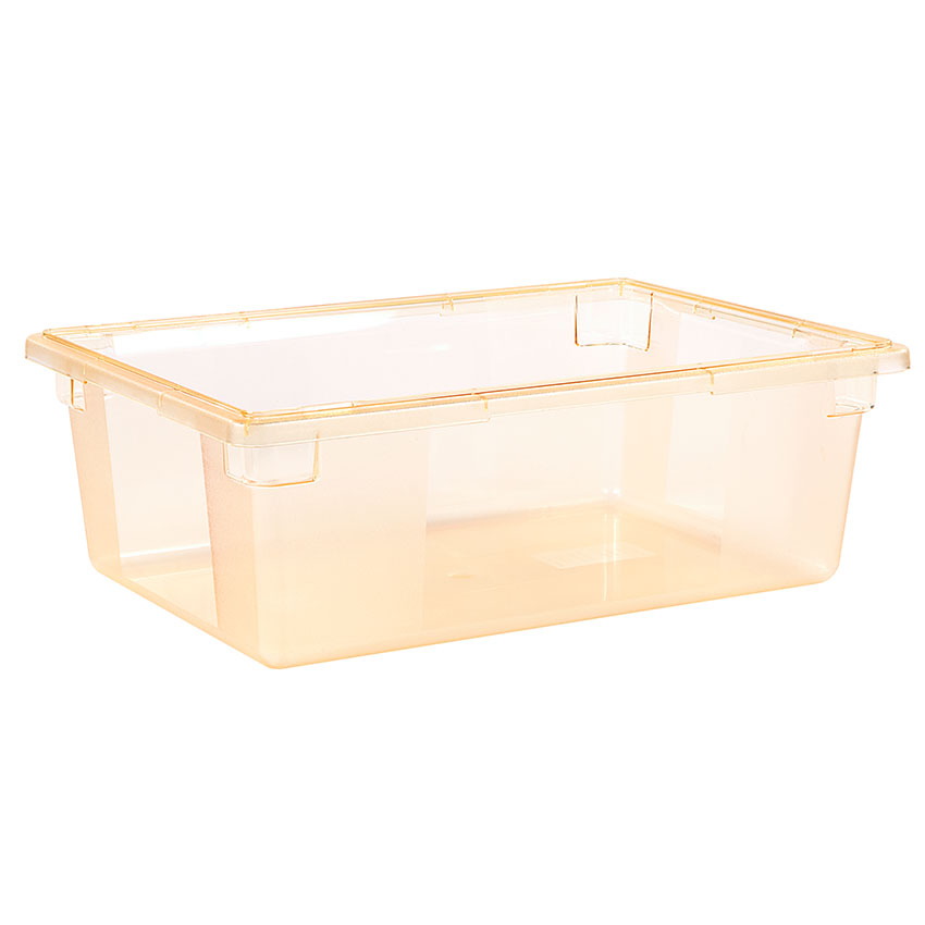 "Carlisle 10622C22 12-1/2-gal Food Storage Box - 26x18x9"" Yellow"