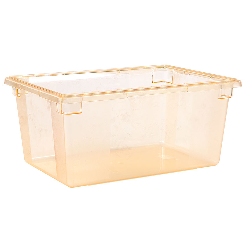 "Carlisle 10623C22 16.6-gal Food Storage Box - 26x18x12"" Yellow"