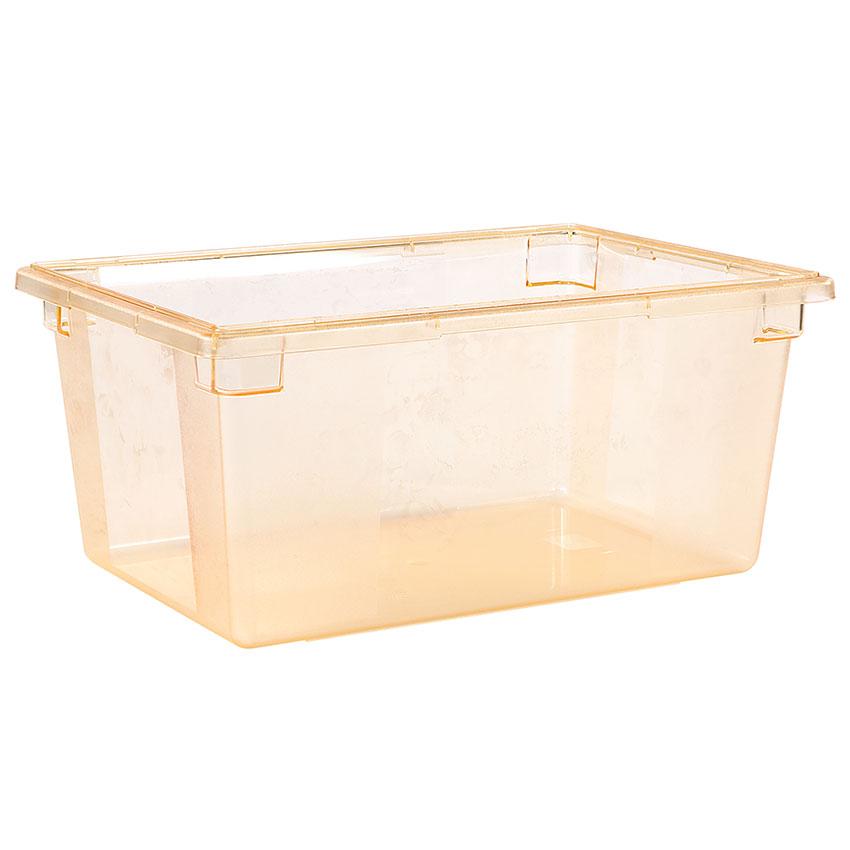"Carlisle 10623C22 16.6-gal Food Storage Box - 26x18x12"" Yellow"