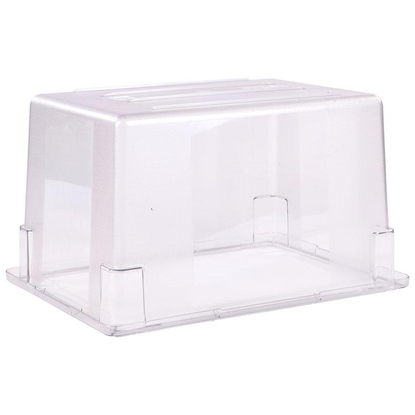 "Carlisle 1062407 21-1/2-gal Food Storage Box - 26x18x15"" Clear"