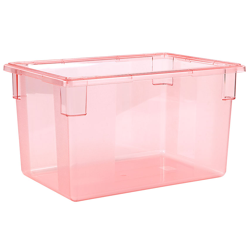 "Carlisle 10624C05 21-1/2-gal Food Storage Box - 26x18x15"" Red"